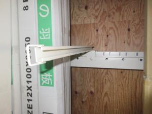 パレットラック 建材・木材・ドア等の立て掛け