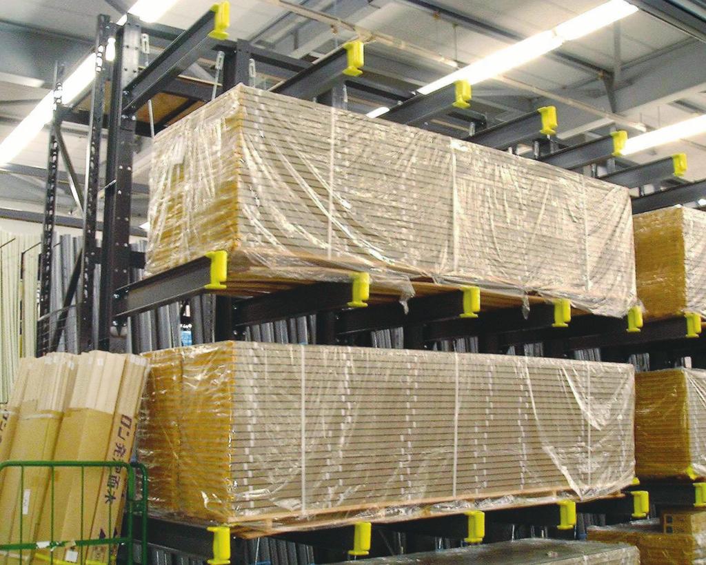 固定ラック カンチラック マテハン三重 長尺物保管 耐荷重700kg/本