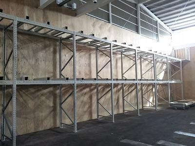 木材保管 パレットラック 合板保管 パレット保管